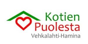 LOGO Vehkalahden-Haminan Kotien Puolesta ry